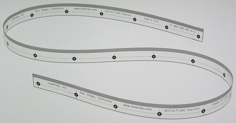 Laserlab Linear Encoder codestrip